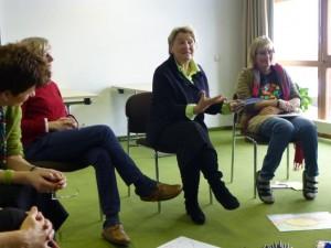 Die Referentin Dita Ostermann-Schur