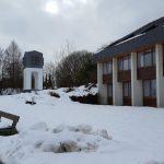 Haus Nordhelle im Schnee